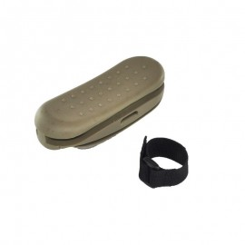 EL AK stock rubber pad Tan