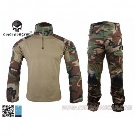EMERSON Combat Tactical Suit Woodland