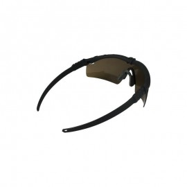 BD Frame Glasses 2 - Black Frame / Brown Lenses -