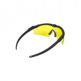 BD Frame Glasses 2 - Black Frame / Yellow Lenses -