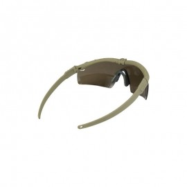 BD Frame Glasses 2 - Dark Earth Frame / Brown Lenses -