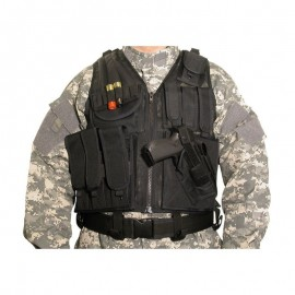 Swiss Arms Vest Tattico con fondina integrata Nero