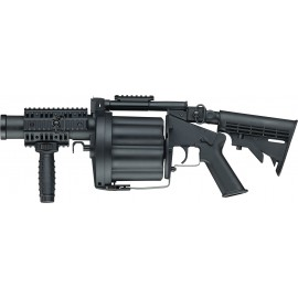 ICS MGL Retractable Stock Black