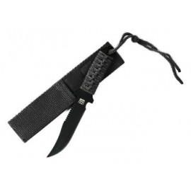 "101 INC COLTELLO MILITARY PARACORD ""SURVIVOR"" SHORT BK"
