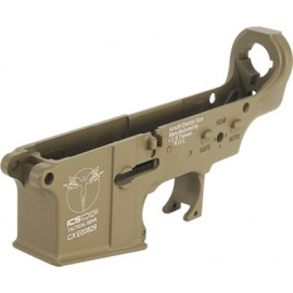 ICS CXP Polymer Lower Receiver TAN