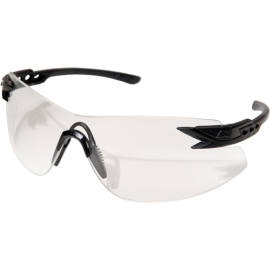 EDGE Notch Matte Black Clear Vapor Shield© Ballistic Glasses