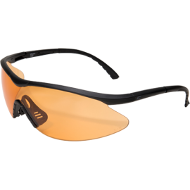 EDGE Fastlink Matte Black Tiger's Eye Vapor Shield© Ballistic Glasses