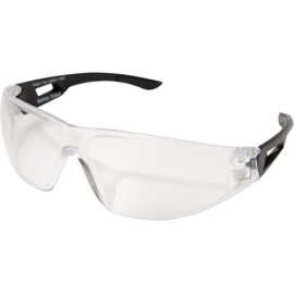 EDGE Dragon Fire Matte Black Clear Anti Fog Ballistic Glasses