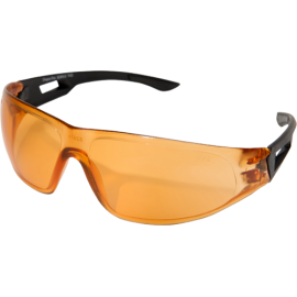 EDGE Dragon Fire Matte Black Tiger's Eye Anti Fog Ballistic Glasses