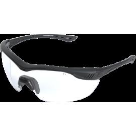 EDGE Overlord Matte Black Clear Vapor Shield© Ballistic Glasses