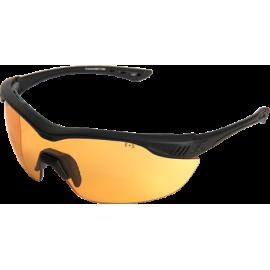 EDGE Overlord Matte Black Tiger's Eye Vapor Shield© Ballistic Glasses