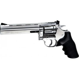 """ASG Dan Wesson 715 6"""" revolver Silver CO2"""