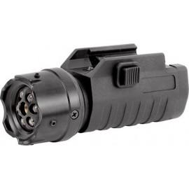 ASG Torcia tattica LED multifunzione 200 lms