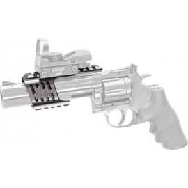 ASG Custom Mount Ergal CNC Dan Wesson 715 Steel grey