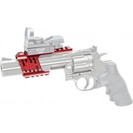 ASG Custom Mount Ergal CNC Dan Wesson 715 Red