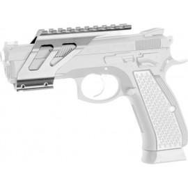 ASG SP-01 SHADOW cnc rail mount Silver