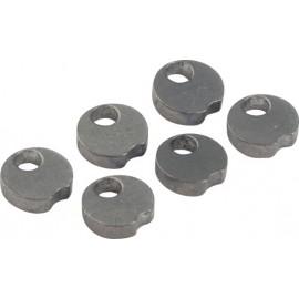 ULTIMATE Metal Delayer sector clip x 6 pcs kit