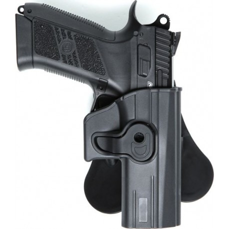 Asg Paddle Holster For Cz Duty P07 P09 Tango Softair