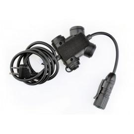 Z-TAC z-slx clarus ptt ICOM connector
