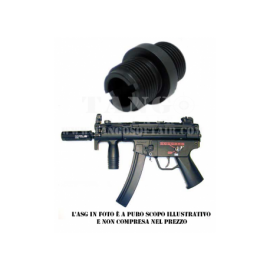BRAVO ADATTATORE MP5KURTZ SILENZIATORE