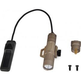 OPSMEN FAST 501R Tactical Flashlight 1000 lumens per Rail Black