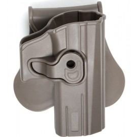 ASG Paddle Holster for CZ Duty P07 / P09 FDE