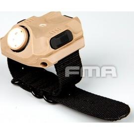 FMA Tactical Flashlight Watch TAN