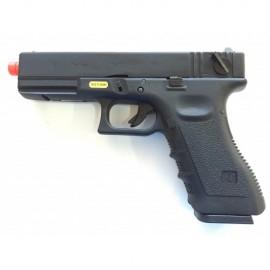 WE G18C GEN3 GBB BLACK