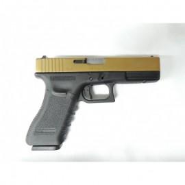 WE G17 Metal Version GBB GOLD SLIDE