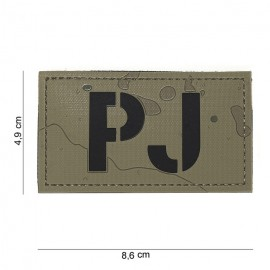 101 INC PATCH PJ DESERT 3D