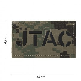 101 INC PATCH 3D IN PVC JTAC AOR2