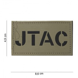 101 INC PATCH 3D JTAC TAN