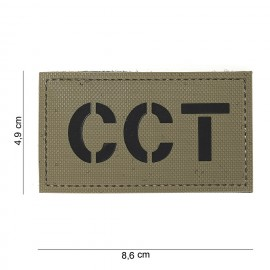 101 INC PATCH 3D PVC CCT TAN