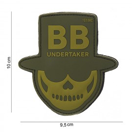 101 INC Patch 3D PVC BB UNDERTAKER OD GREEN