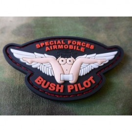 JTG BUSH PILOT RUBBER PATCH COLOR