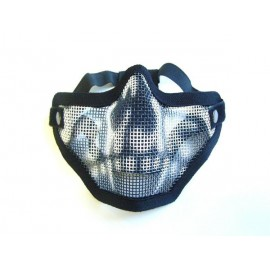 MASK WITH NET SKULL STYLE