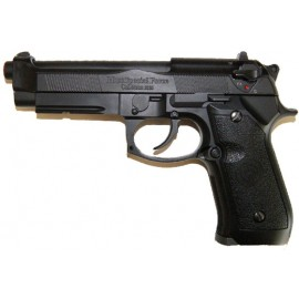 GBB PISTOL M9A1 SPECIAL FORCE SINGLE/BURST BLACK HFC