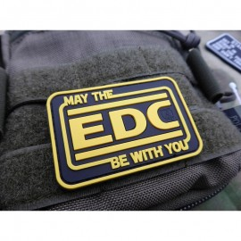 JTG MAY THE EDC BE WITH YOU RUBBER PATCH FULL COLOR
