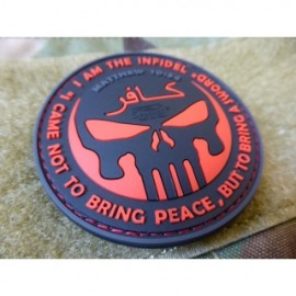 JTG THE INFIDEL PUNISHER Patch BLACKMEDIC