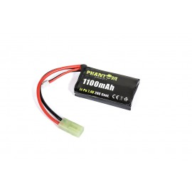 Phantom Li-Po 7.4V 1100mAh 20C Pack Type