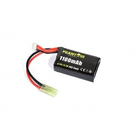Phantom Li-Po 11.1V 1100mAh 20C Pack Type