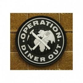 JTG Op Diner Out Rubber Patch swat