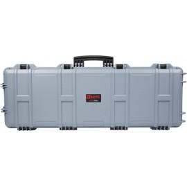 Nuprol Large Hard Case - Custodia rigida Grey Wave