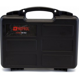 Nuprol Small Hard Case - Valigetta per pistola Black Wave