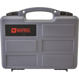 Nuprol Small Hard Case - Valigetta per pistola Grey Wave