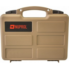 Nuprol Small Hard Case - Valigetta per pistola Tan Wave