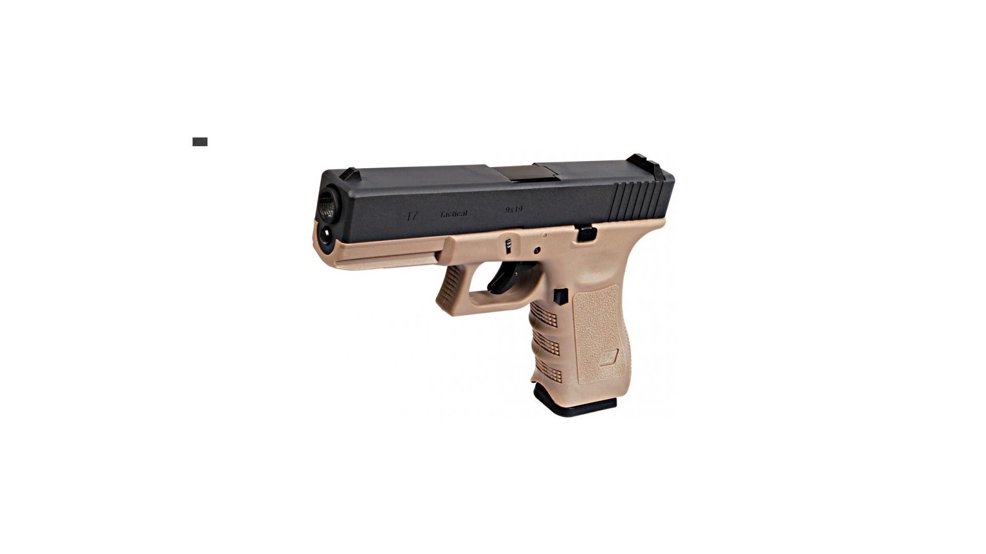 WE Glock G17 gen 3 Desert Body - Tango Softair