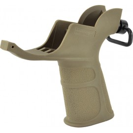 APS M4 Pistol Grip con anello QD TAN