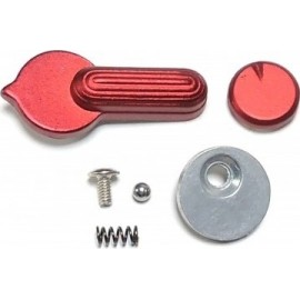 APS Metal Selector Lever for M4 / M16 Series Red