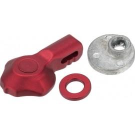 APS Phantom Short Metal Selector Lever for M4 / M16 Series Red